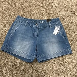 NWT Denim Shorts from The Limited